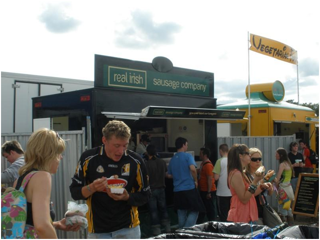 Get the festival feeling with mobile catering
