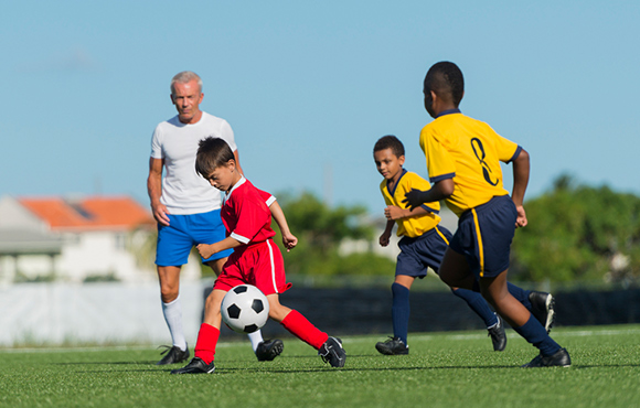 Benefits of Team Sports for Disadvantaged Children