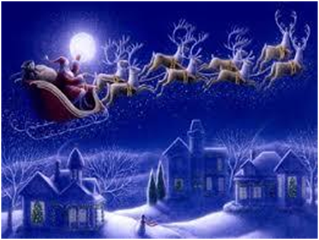 Santa's Home is Actually lovely